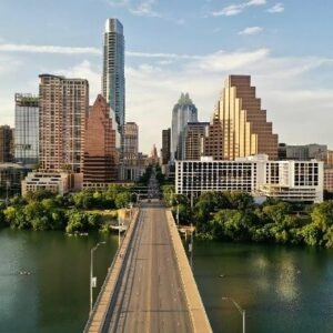 road into Austin